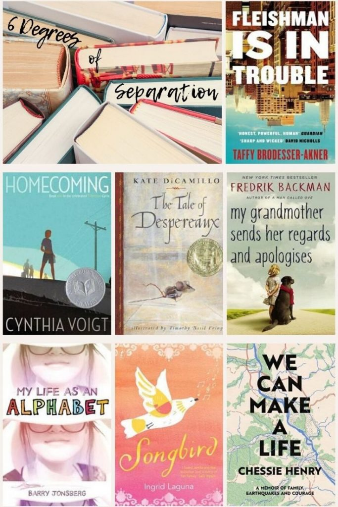 collage of all the books mentioned in this blog post