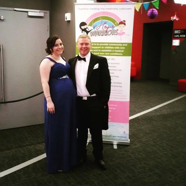 Ashley and Ben at the Hope Warriors Ball