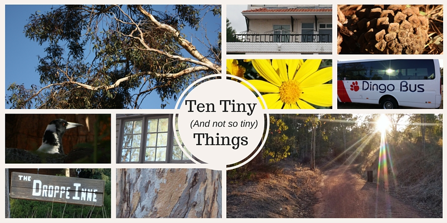Ten tiny (and not so tiny) things