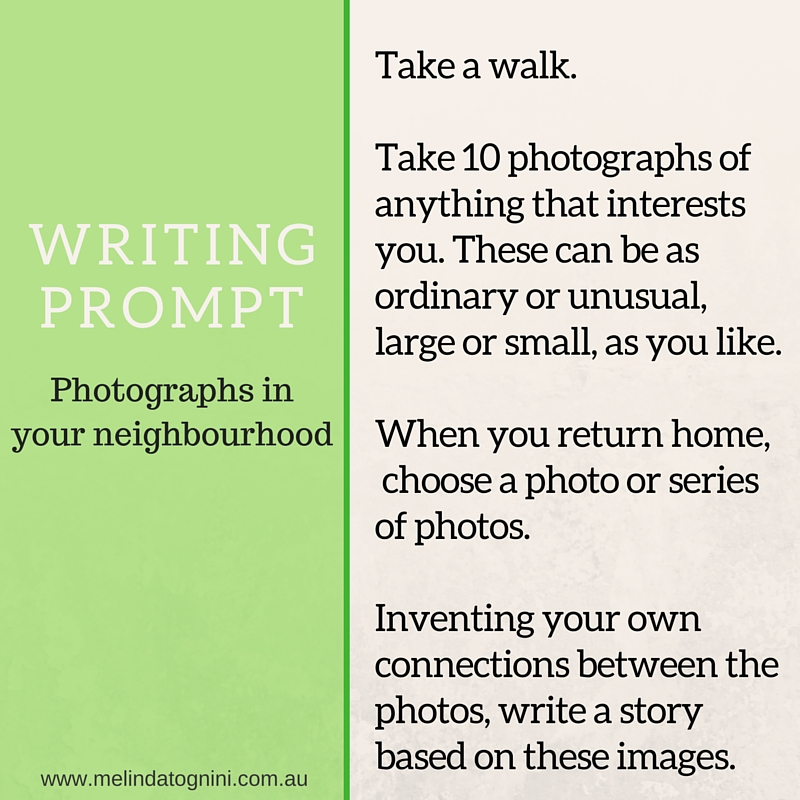 Writing Prompts Take a Walk