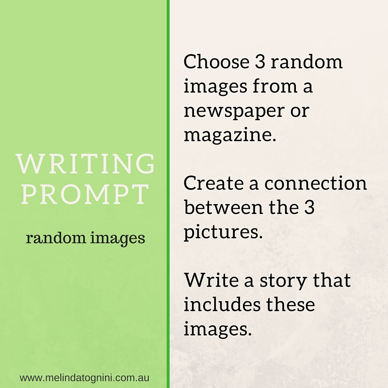 Writing prompt random images