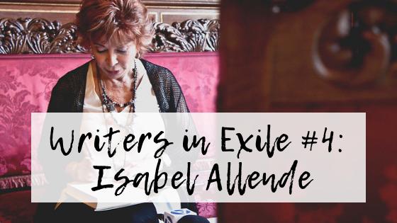 Image of Isabel Allende signing a book